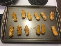 Pic #2 - Doritos Crusted Mozzarella Sticks