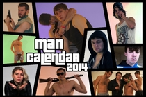 Pic #2 - Every year me and my friends get together drink copiously and shoot a Man Calendar This years theme was gaming x-post gaming