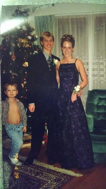 Pic #2 - Found a picture of my older brothers prom
