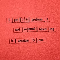 Pic #2 - Got some more Depressing Fridge Poems for you guys