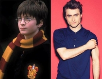 Pic #2 - Hogwarts Then and Now