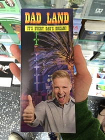 Pic #2 - I added this fake brochure to a travel kiosk on Hollywood Blvd