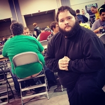 Pic #2 - I participated in one of the biggest Magic the Gathering tournaments of all time this weekend In an effort to document it I posed for pictures near people with exposed asscracks I present to you Grand Prix Richmond Crackstyle