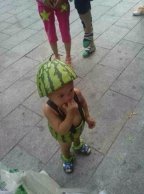 Pic #2 - I see your good guy watermelon hat citizen and raise you