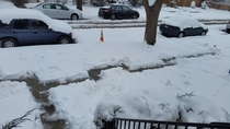 Pic #2 - If Im the only one in my building who shovels the sidewalk then I will have my revenge