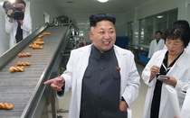 Pic #2 - Kim Jong-Un is pretty much just a first grader on a field trip