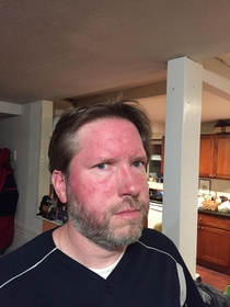 Pic #2 - My brother and dad made a bet dad lost had had to dye his hair