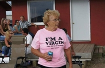 Pic #2 - Old people wearing funny shirts