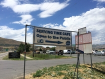 Pic #2 - Our local prison opened a cafe on site to the public where the inmates make and serve all the food Im surprised the name of the cafe got approved