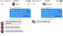 Pic #2 - Playing Would You Rather With Girls on Tinder