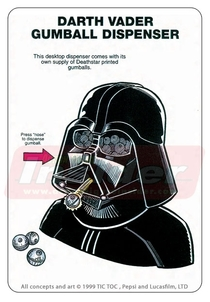 Pic #2 - Rejected Star Wars merchandising ideas