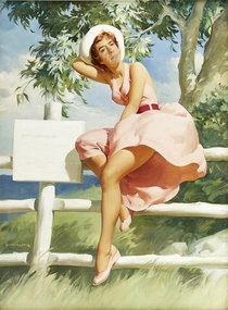 Pic #2 - Robert Downey Jr Portrayed as Pinup Girls