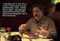 Pic #2 - Ron Swanson Speaker of Truths