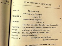 Pic #2 - Shakespeares Star Wars this is a real thing