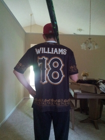 Pic #2 - So my teams softball jerseys came in today Its going to be an interesting season