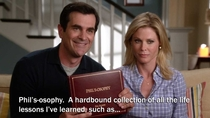 Pic #2 - The entire Phils-osophy collection - By Phil Dunphy