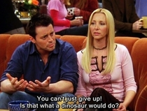 Pic #2 - The faultless logic of Joey Tribbiani