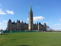 Pic #2 - The sacred guardians of the Parliament of Canada