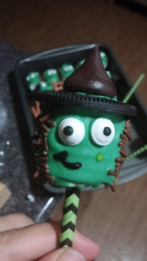 Pic #2 - The Witch Marshmallow Pop