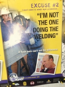 Pic #2 - These snarky safety posters are really eye opening