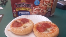 Pic #2 - Tombstone Pepperoni and Sausage Mini Pizzas