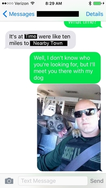 Pic #2 - You got the wrong number buddy - Meme Guy