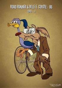 Pic #3 - Aging cartoon characters