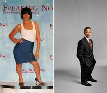 Pic #3 - Apparently photoshopping celebrities to look like midgets is a thing