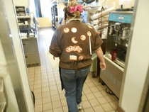 Pic #3 - At my Dunkin Donuts we liked to play games one older employee was completely unaware