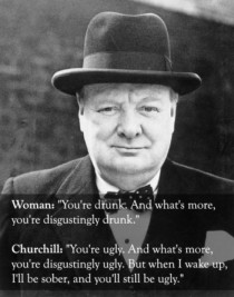 Pic #3 - Churchill was a boss