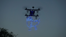Pic #3 - Experimented with my quadcopter today Results did not disappoint