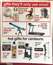 Pic #3 - I added some fake Black Friday deals to this stores weekly in-store flyer