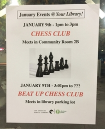 Pic #3 - I made up some fake events for my local library