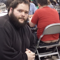Pic #3 - I participated in one of the biggest Magic the Gathering tournaments of all time this weekend In an effort to document it I posed for pictures near people with exposed asscracks I present to you Grand Prix Richmond Crackstyle