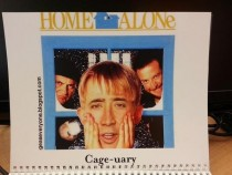 Pic #3 - My coworkers werent sure how to react to my custom-made  calendar