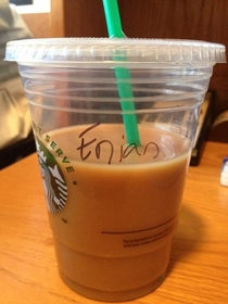 Pic #3 - My Name is Ian and I Hate Starbucks