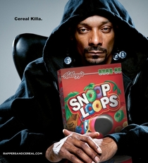 Pic #3 - Oh rappers and their cereal endorsments