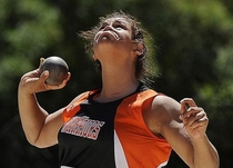 Pic #3 - Shotputter faces