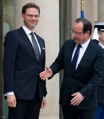 Pic #3 - The President of France cannot catch a break