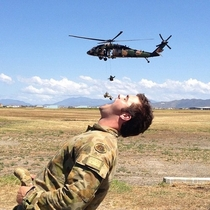 Pic #3 - What soldiers do on their days off