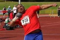 Pic #4 - A collection of shot-put faces