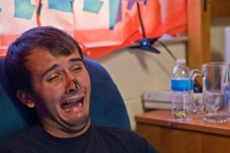Pic #4 - About a year ago my friend posted a picture of me mid-sneeze to rphotoshopbattles This is the collection of pictures that I found there