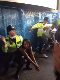 Pic #4 - British police at Notting Hill Carnival