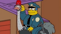Pic #4 - Chief Wiggum at his stupide I mean finest yes finest