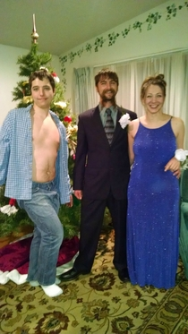 Pic #4 - Found a picture of my older brothers prom