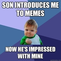 Pic #4 - Found a way to have a  productive convo with my -yr-old son Meme battle