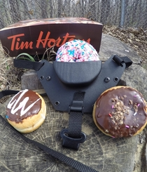 Pic #4 - I made my Canadian friend a Tactical Donut Holster TDH