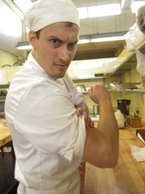 Pic #4 - I want to show you guys how effing serious I took cooking school