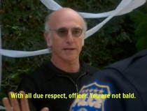Pic #4 - Larry David knows how to write the rules