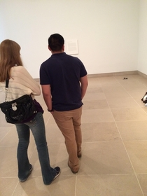 Pic #4 - my friend and i set his watch and sunglasses down in an abstract art exhibit at the DMA